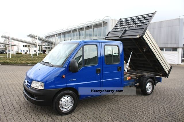 2004 Citroen  Citroën Jumper 35 2.8HDI DoKa body + 3-way tipper Van or truck up to 7.5t Stake body photo