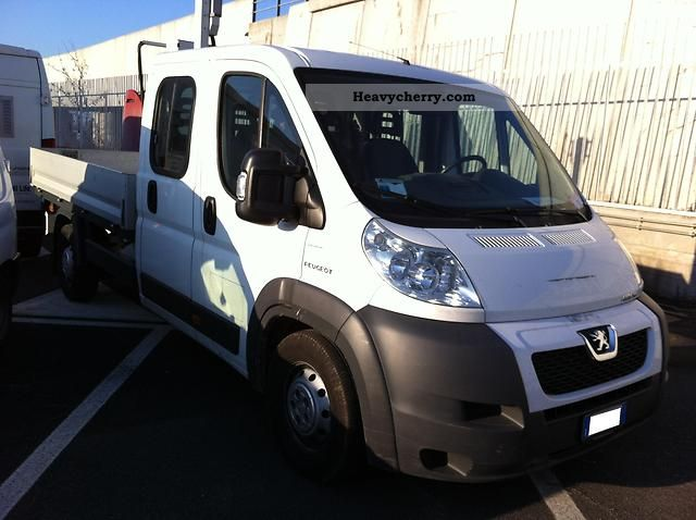 2008 Citroen  Citroën Jumper 3.0hdi cassonato doppia cabina 7 posti Van or truck up to 7.5t Stake body photo