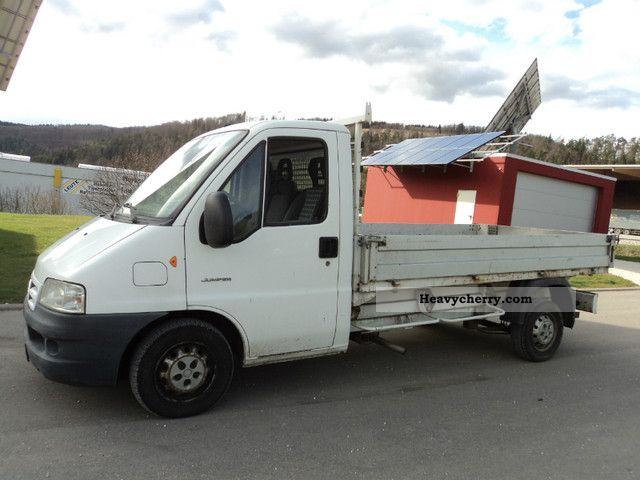 2002 Citroen  Citroën Jumper Platform Van or truck up to 7.5t Stake body photo