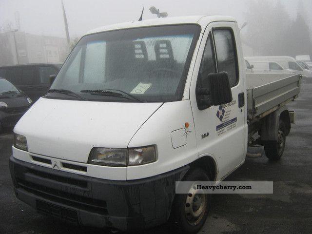 1999 Citroen  Citroen Jumper 2.5D platform Einzelkabiener 1.Hand Van or truck up to 7.5t Stake body photo
