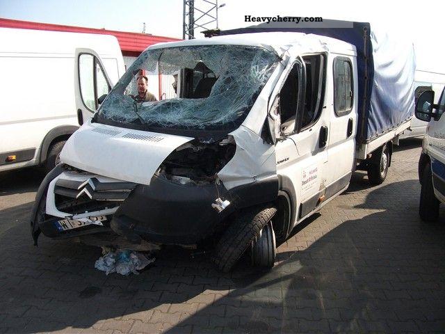 2008 Citroen  Citroën Jumper MAXI DOKA skrzynia 3.50 m. Van or truck up to 7.5t Other vans/trucks up to 7 photo