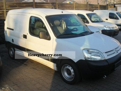2007 Citroen  Citroën Berlingo HDI sliding Van or truck up to 7.5t Box-type delivery van photo