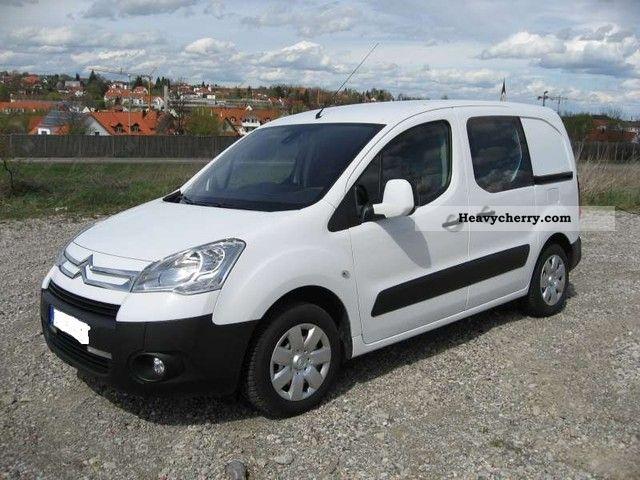 2008 Citroen  Citroën Berlingo L1 HDI 90 Niv B Vollausstattung Van or truck up to 7.5t Box-type delivery van photo