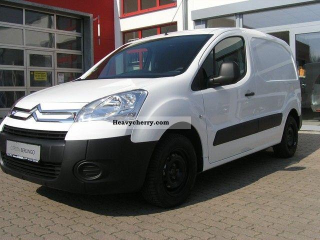2012 Citroen  Citroën Berlingo L1 1.6 HDi 90 FAP level B Van or truck up to 7.5t Box-type delivery van photo