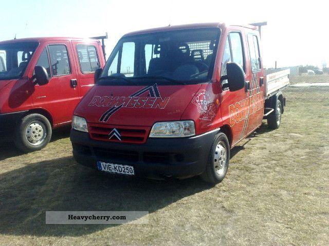 2002 Citroen  Citroen Jumper 2.8 HDI Doka DopelKabina Van or truck up to 7.5t Stake body photo