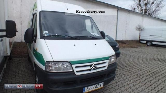 2004 Citroen  Citroën Jumper 35HDi LH Van or truck up to 7.5t Other vans/trucks up to 7 photo