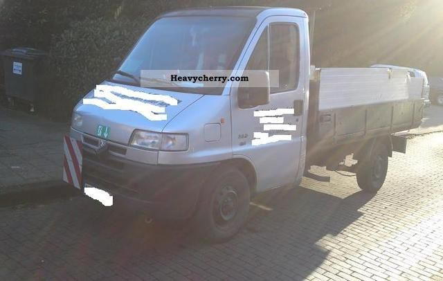1995 Citroen  Citroën Jamper 2.5D Prische silver Van or truck up to 7.5t Stake body photo