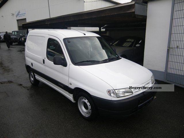 2002 Citroen  Citroen Berlingo 1.9 D Van or truck up to 7.5t Box-type delivery van photo