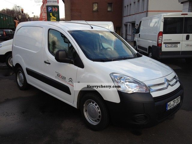 2011 Citroen  Citroen Berlingo Van 1.6 VTi 9 Level A L1 * LPG * Van or truck up to 7.5t Box-type delivery van photo