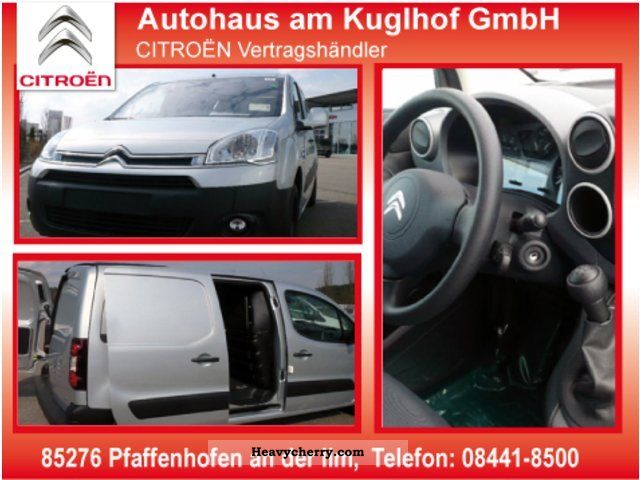 2011 Citroen  Citroen Berlingo Kawa * APC, head valve, lateral. Slide Van or truck up to 7.5t Box-type delivery van photo
