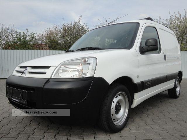 2003 Citroen  Citroën BERLINGO 1.9 51 KW DIESEL MP3 Van or truck up to 7.5t Box-type delivery van photo