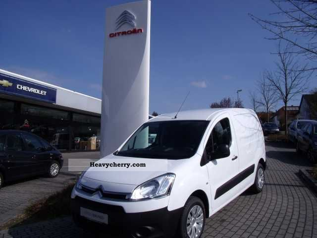 2011 Citroen  Citroën Berlingo L1 1.6 e-HDi 90 FAP level B Van or truck up to 7.5t Box-type delivery van photo