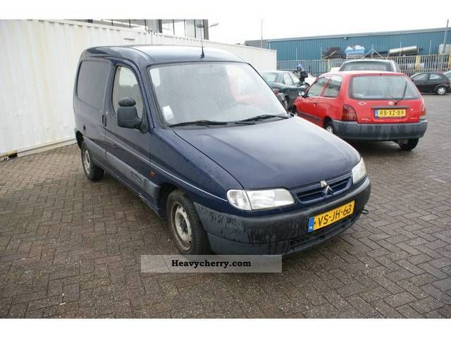 1997 Citroen  Citroen Berlingo 1.9 D Van or truck up to 7.5t Box-type delivery van photo