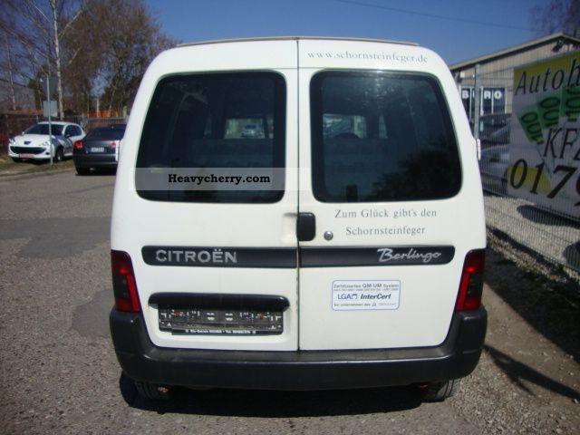 Citroen Citroën Berlingo 11 Petrol Lkwgeschlkasten 2002