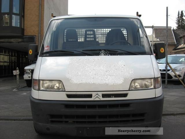 1999 Citroen  Citroën Jumper Van or truck up to 7.5t Stake body photo