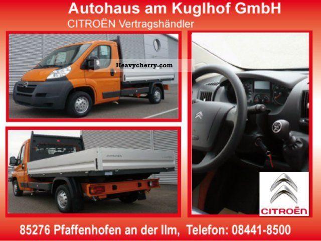2011 Citroen  Citroën Jumper Pritsche33 L2 H110 Van or truck up to 7.5t Stake body photo