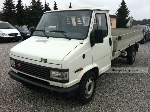 1994 Citroen  * Citroën Jumper 2.5TD * Top * pritsche state ** Van or truck up to 7.5t Stake body photo