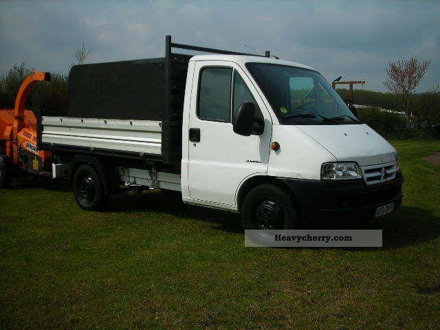 2006 Citroen  Citroën Relay 35 2.8 HDi Van or truck up to 7.5t Tipper photo