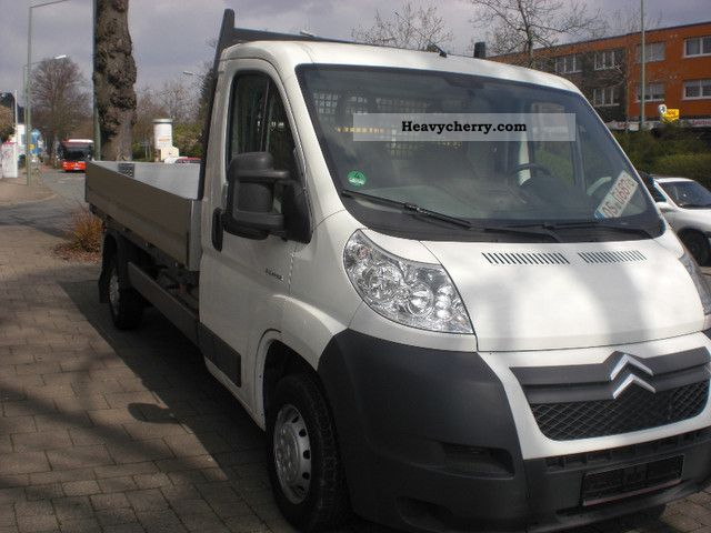 2009 Citroen  Citroën Jumper L4 33 Aluaufbau Van or truck up to 7.5t Stake body photo
