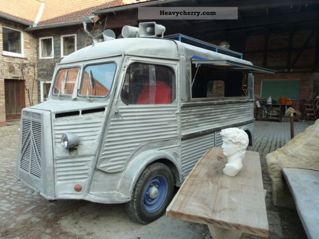 1963 Citroen  Citroen HY Van or truck up to 7.5t Box-type delivery van photo