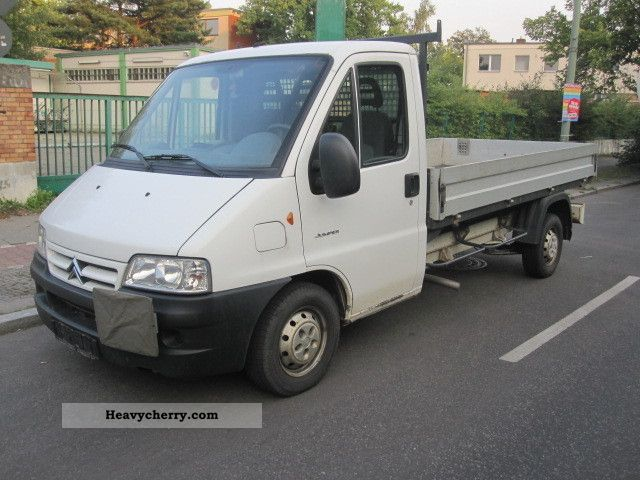 2005 Citroen  Citroen Jumper Citroen 8.2 Long 1Hand Platform Van or truck up to 7.5t Stake body photo