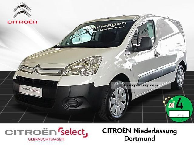 2011 Citroen  Citroën Berlingo L1 1.6 HDi 75 FAP Euro 5 Van or truck up to 7.5t Box-type delivery van photo