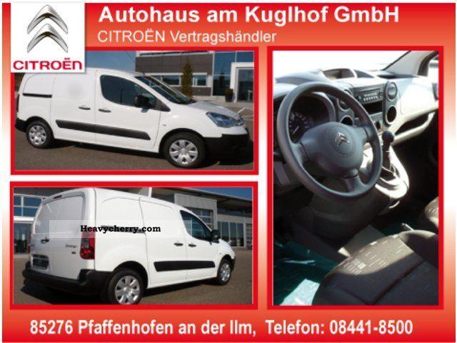 2011 Citroen  Citroen Berlingo Kawa eHDi90 Airdream EURO5 Van or truck up to 7.5t Box-type delivery van photo