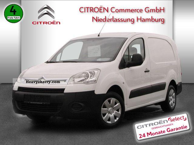 2010 Citroen  Citroën Berlingo HDI long, 90 DPF box Van or truck up to 7.5t Box-type delivery van photo