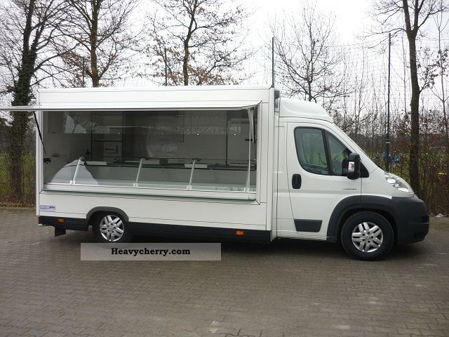 2009 Citroen  Citroën Jumper bar with refrigerator and Tour Package Van or truck up to 7.5t Traffic construction photo