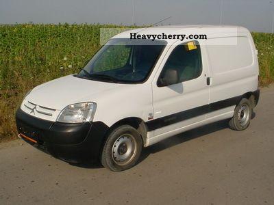 2008 Citroen  Citroën BERLINGO 1.6 HDI Van or truck up to 7.5t Box-type delivery van photo