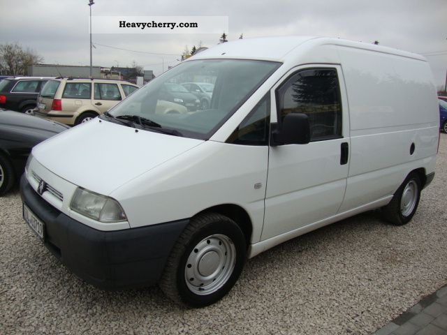 2001 Citroen  Citroen 1.9 TD OKAZJA Van or truck up to 7.5t Box-type delivery van photo