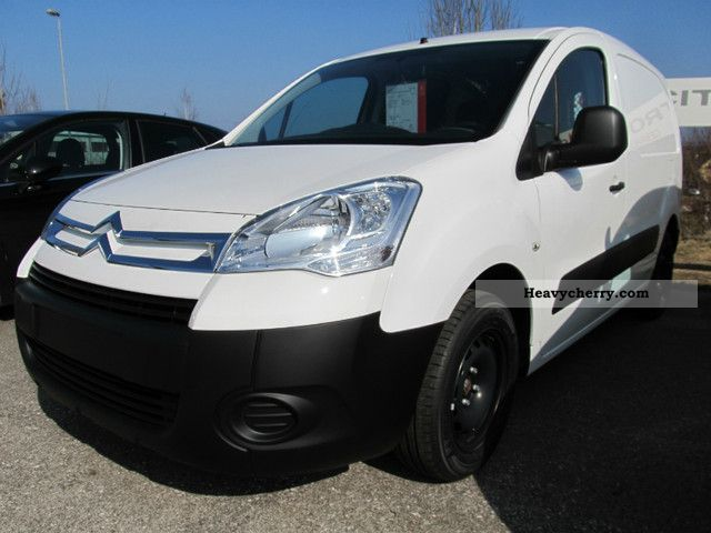 2011 Citroen  Citroen Berlingo van 3 seater HDI90 Van or truck up to 7.5t Box-type delivery van photo
