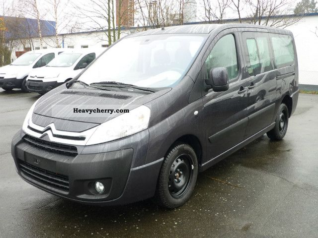 citroen citro n jumpy multispace hdi 125 l2 tendance 2012 estate minibus up to 9 seats truck. Black Bedroom Furniture Sets. Home Design Ideas