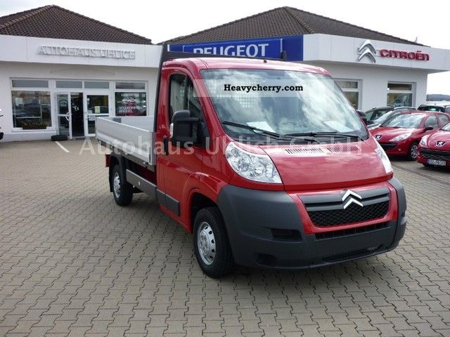 2011 Citroen  Peugeot Boxer HDi 130 FAP platform 33 L2 Van or truck up to 7.5t Stake body photo