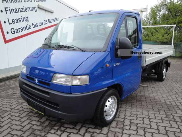 2000 Citroen  Citroen Jumper 2.5 TDI 230 * APC * Van or truck up to 7.5t Stake body photo