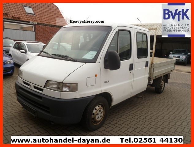 2001 Citroen  Citroen Jumper 2.5 Doka 7Sitzer Van or truck up to 7.5t Stake body photo