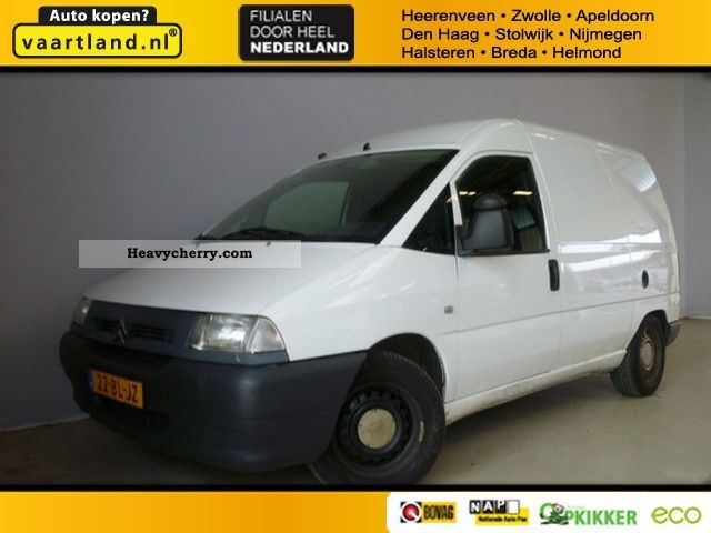 2004 Citroen  Citroën Jumpy (j) Loading capacity 2.0HDI hoog BPM Van or truck up to 7.5t Box-type delivery van photo