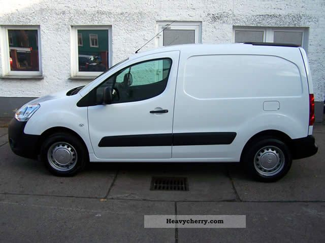citroen citroen vans berlingo hdi 75 level a 2012 box type. Black Bedroom Furniture Sets. Home Design Ideas