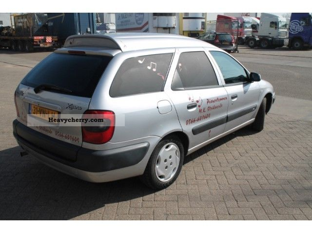citroen citroen xsara 1 9 d van break 2000 box type delivery van photo and specs. Black Bedroom Furniture Sets. Home Design Ideas