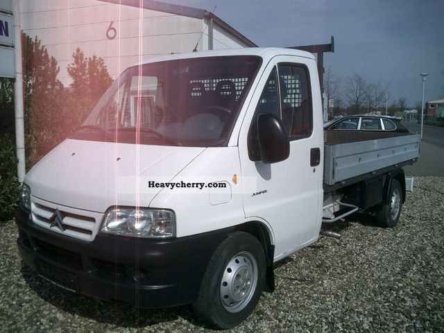 2004 Citroen  Peugeot Boxer HDI 35 flatbed L2 / APC Van or truck up to 7.5t Stake body photo