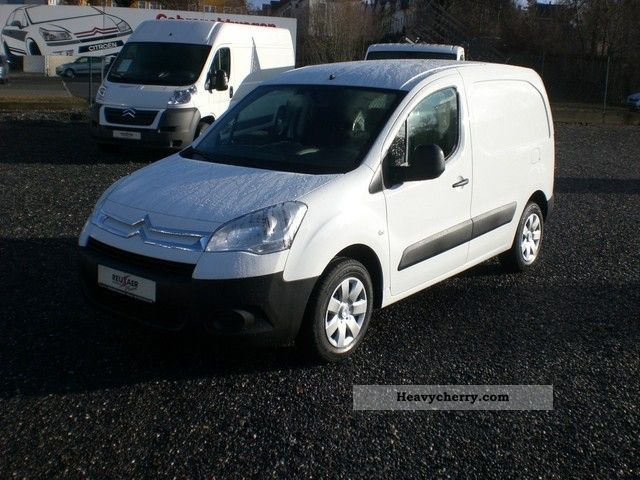 2012 Citroen  Citroen Berling L1 1.6 HDi 75 FAP Level B - TGZ Van or truck up to 7.5t Box-type delivery van photo