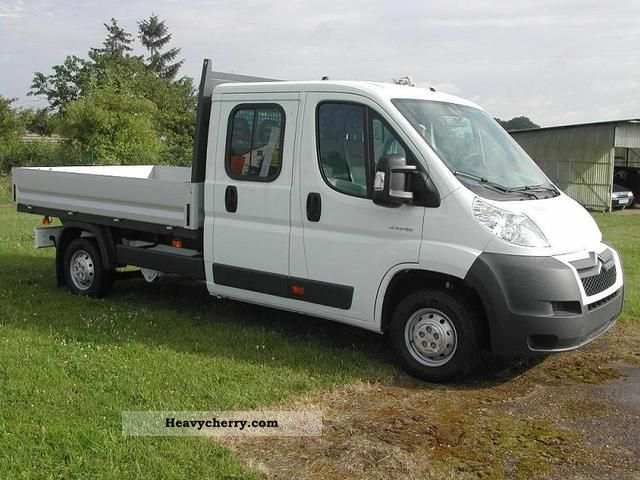2012 Citroen  Citroën Jumper, Doka / platform 33L3 HDI130 7-seater Van or truck up to 7.5t Stake body photo