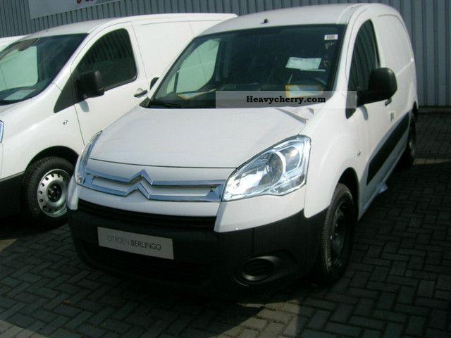 2012 Citroen  Citroën BERLINGO Kawa VTi95 Level A partition Van or truck up to 7.5t Box-type delivery van photo