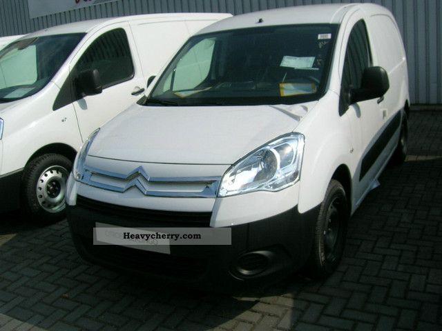 2011 Citroen  Citroën BERLINGO HDi90 NB L1-term u.Sicherheitspaket Van or truck up to 7.5t Box-type delivery van photo