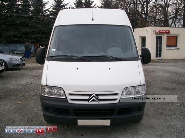 2005 Citroen  Citroen Jumper 2.2 HDI FV VAT 23% Van or truck up to 7.5t Other vans/trucks up to 7 photo