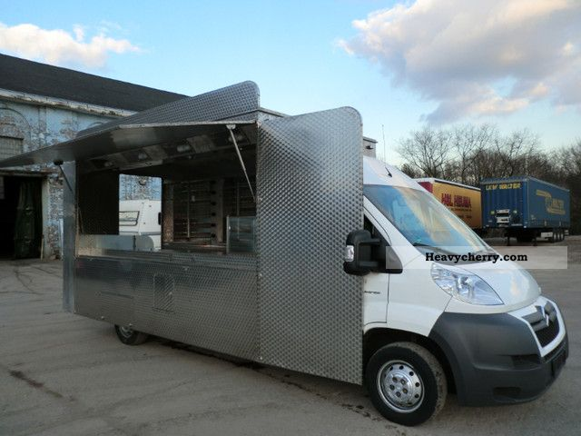 2009 Citroen  Citroën Jumper Chicken car sales Van or truck up to 7.5t Traffic construction photo