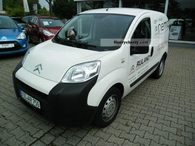2011 Citroen  Citroën Nemo HDI 75 Start \u0026 Stop Van or truck up to 7.5t Box-type delivery van photo