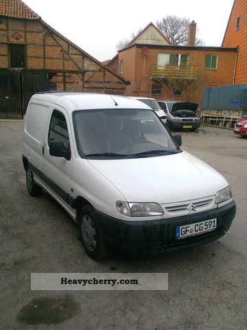1997 Citroen  Citroen Berlingo Van or truck up to 7.5t Box-type delivery van photo
