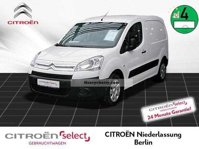 2009 Citroen  Citroën Berlingo L1 1.6 HDi 90 level NL Berlin Van or truck up to 7.5t Box-type delivery van photo