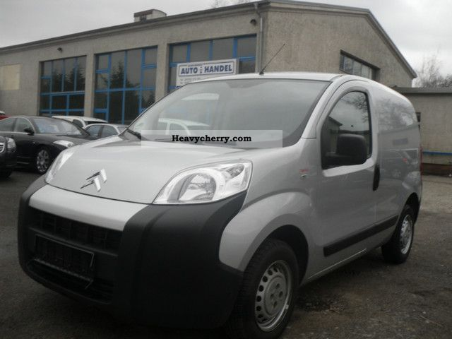 2009 Citroen  Citroën Nemo1.4 diesel 50 KW, 1 Hand, 1 DOOR Van or truck up to 7.5t Box-type delivery van photo
